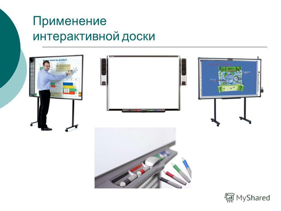 Применение интерактивной доски