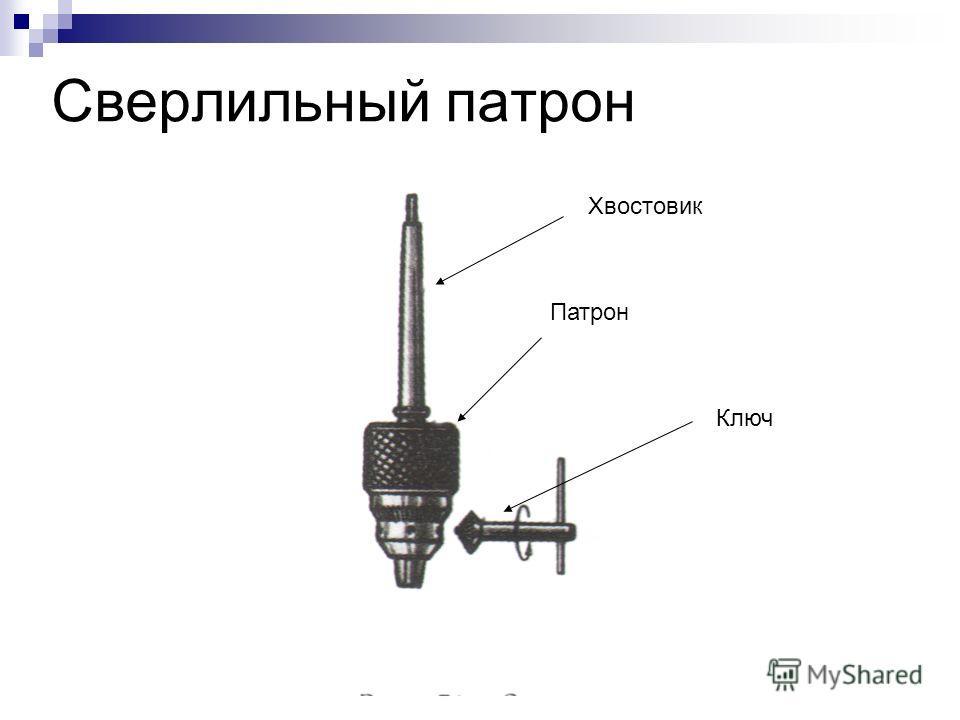 Сверлильный патрон Хвостовик Патрон Ключ