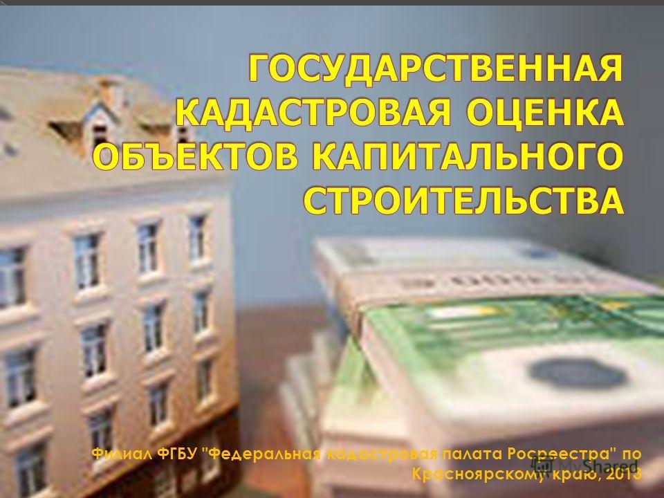 Филиал ФГБУ Федеральная кадастровая палата Росреестра по Красноярскому краю, 2013