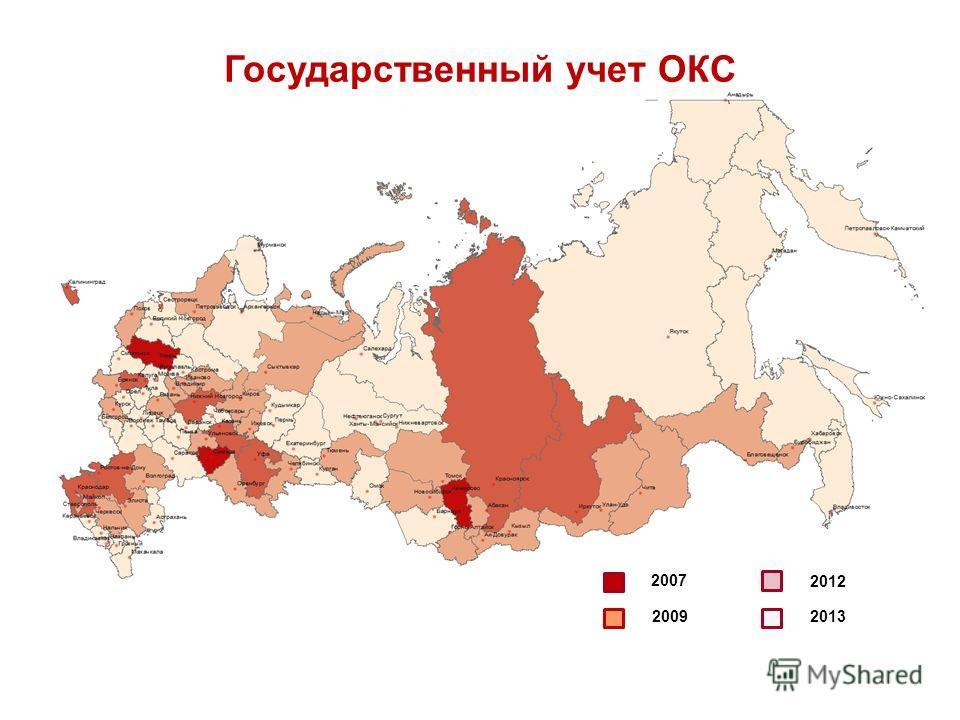 Государственный учет ОКС 2007 2009 2012 2013