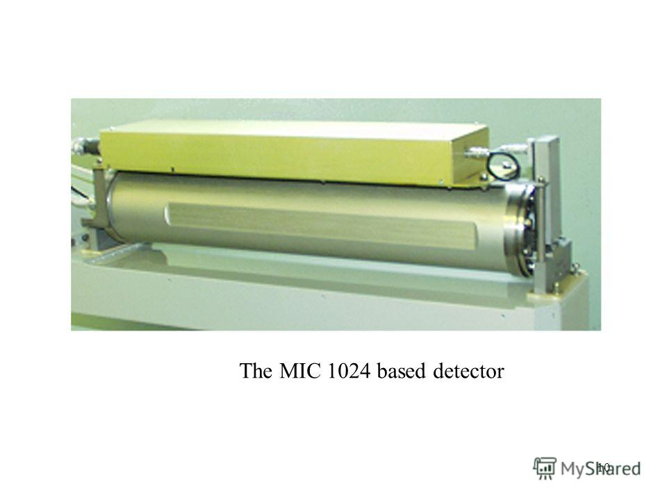 10 The MIC 1024 based detector