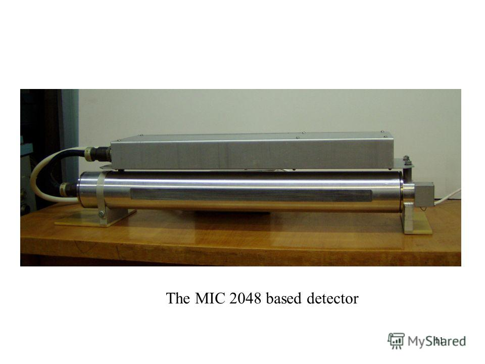 11 The MIC 2048 based detector