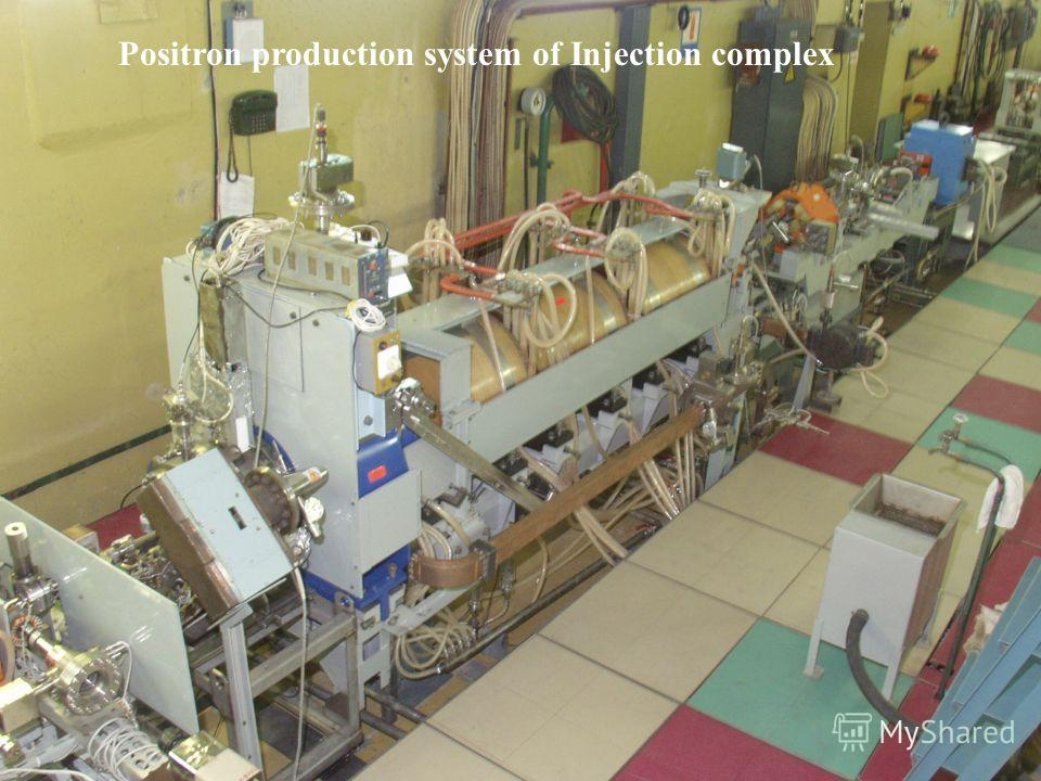 Positron production system of Injection complex