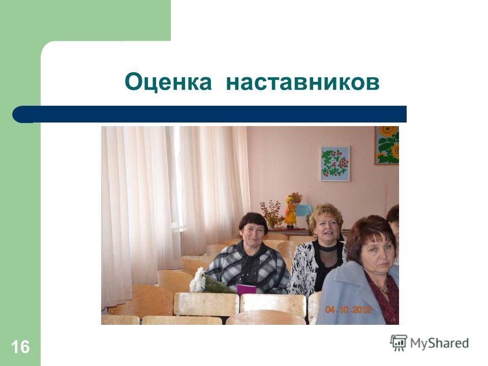Оценка наставников 16