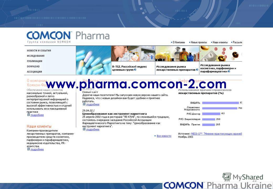 22 www.pharma.comcon-2.com
