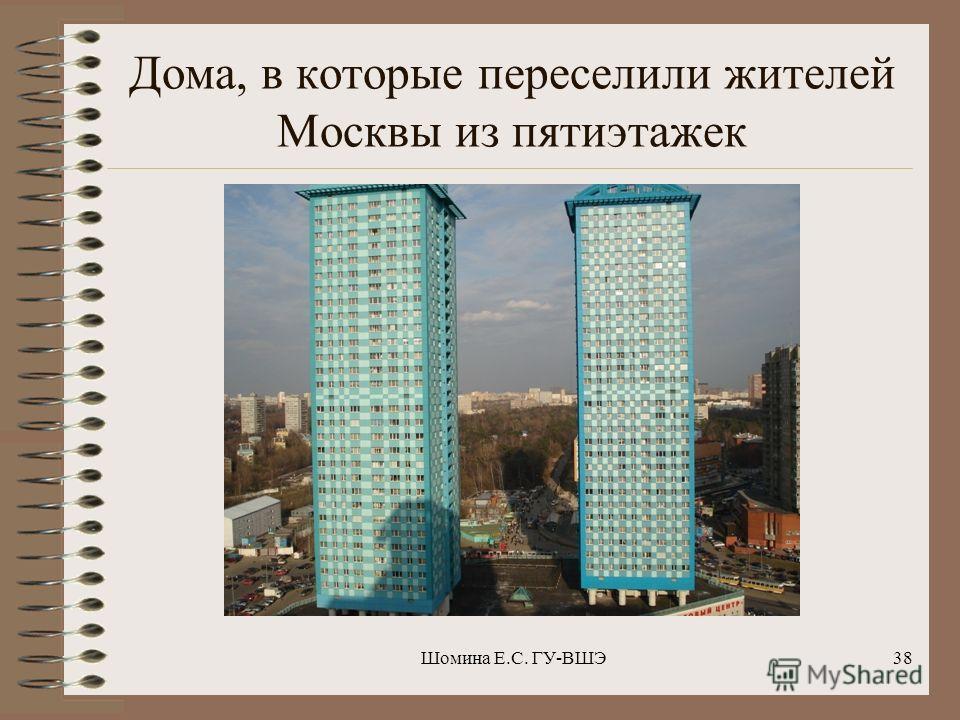Типичный новый дом в Москве Шомина Е.С. ГУ-ВШЭ37
