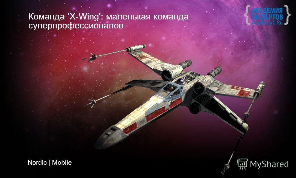 Команда 'X-Wing': маленькая команда суперпрофессионалов Nordic | Mobile