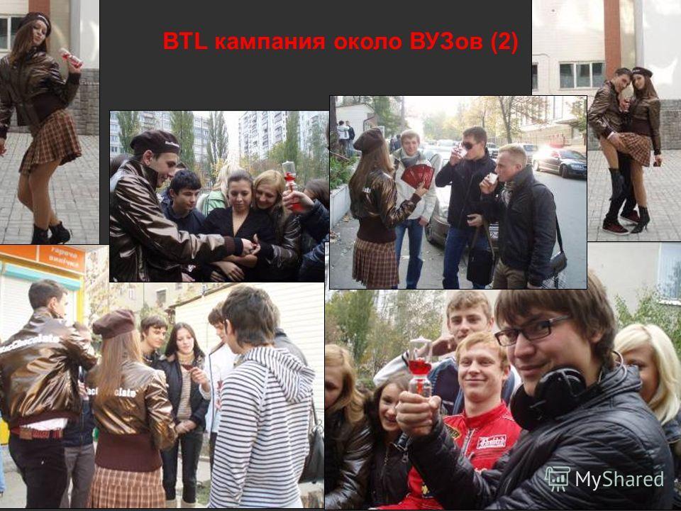 BTL кампания около ВУЗов (2)