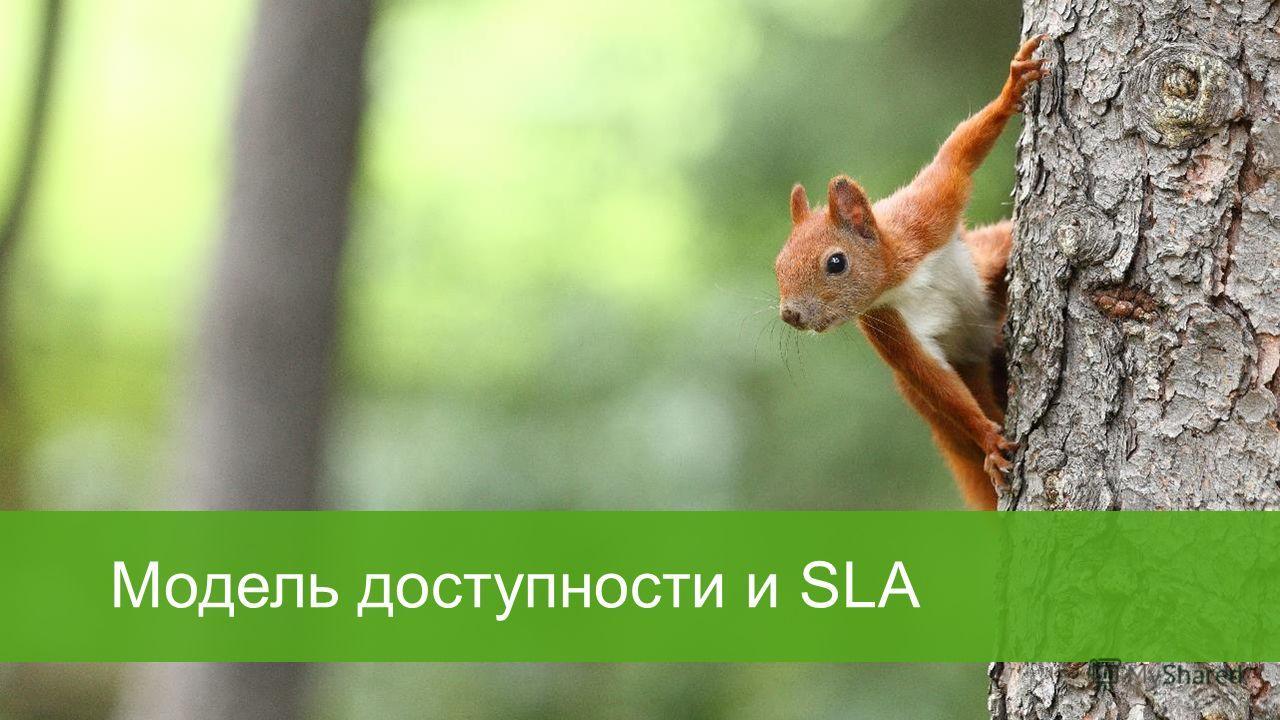 Модель доступности и SLA