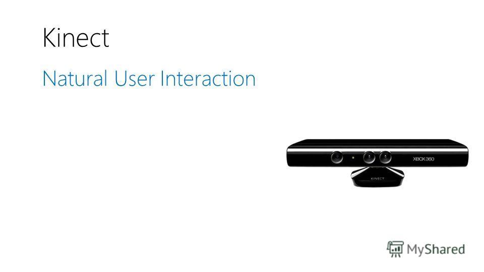 Kinect Natural User Interaction