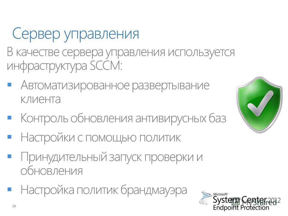 Сервер управления 24