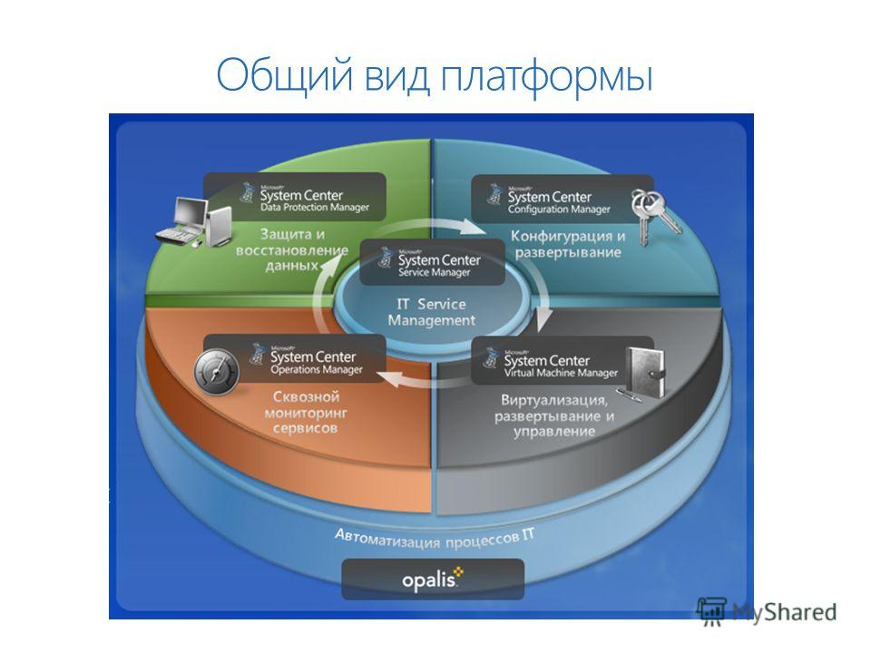 Общий вид платформы