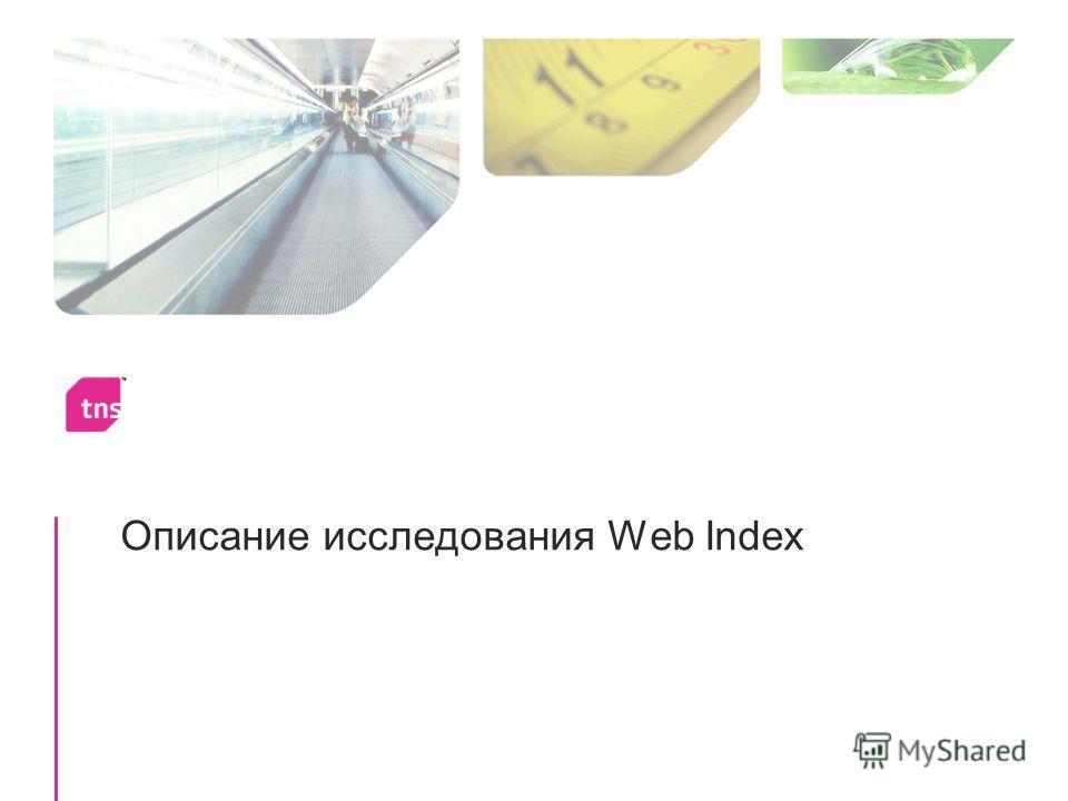 Описание исследования Web Index