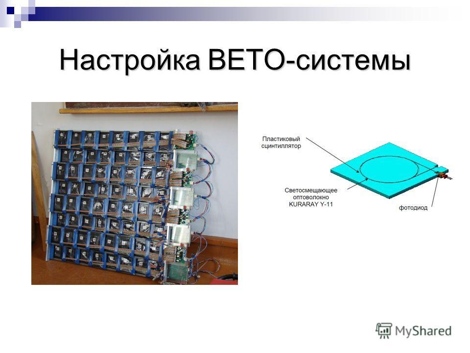 Настройка ВЕТО-системы