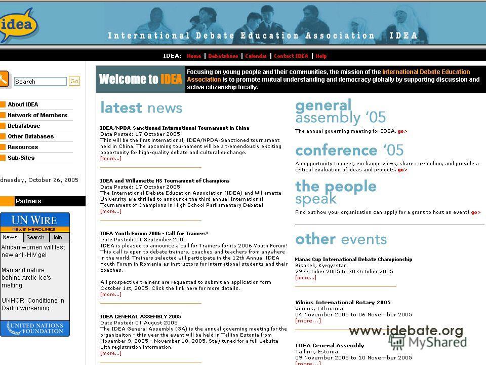 www.idebate.org