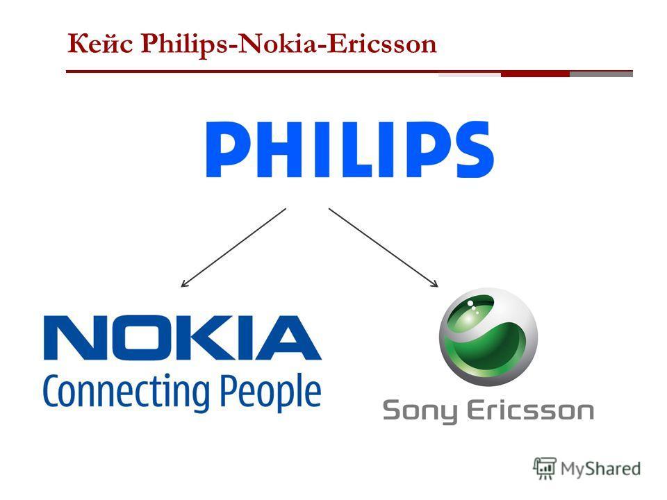 Кейс Philips-Nokia-Ericsson