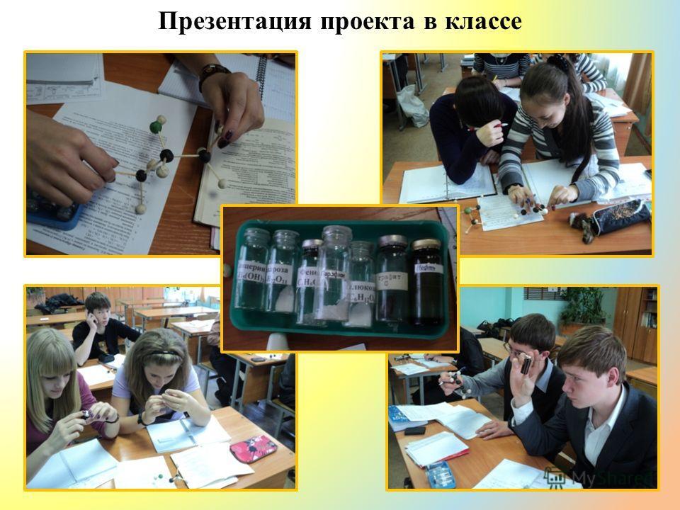 Презентация проекта в классе