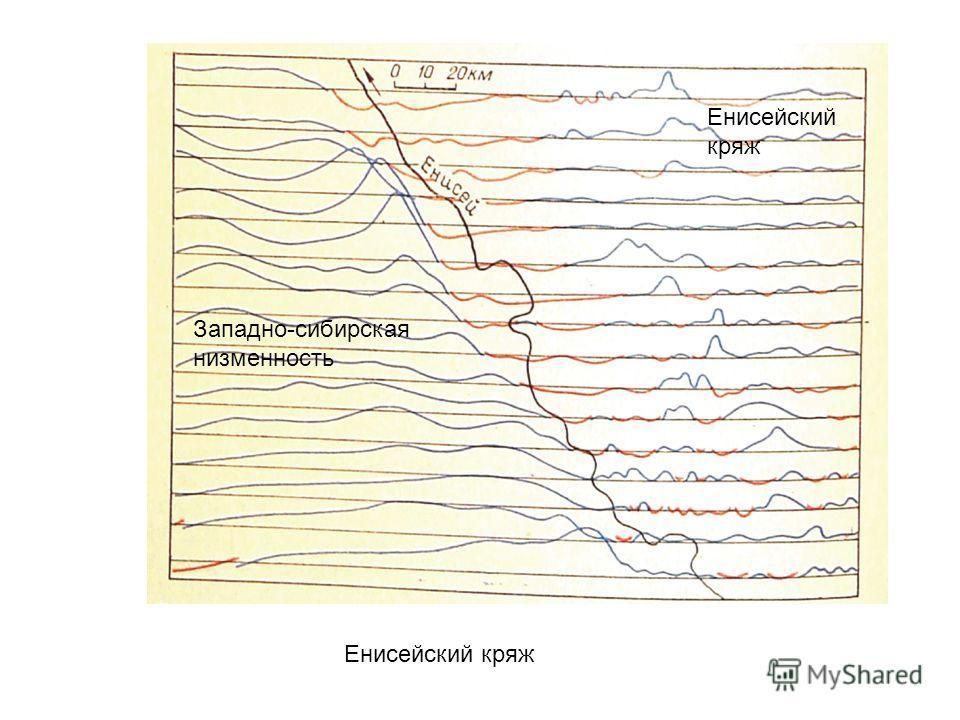 Енисейский кряж Западно-сибирская низменность Енисейский кряж