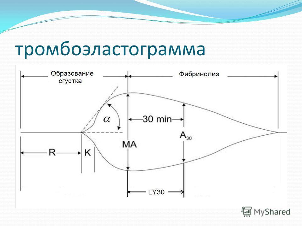 Что происходит в кювете Активаторы плазминогена Плазмин Фибрин ПДФ Начало лизиса