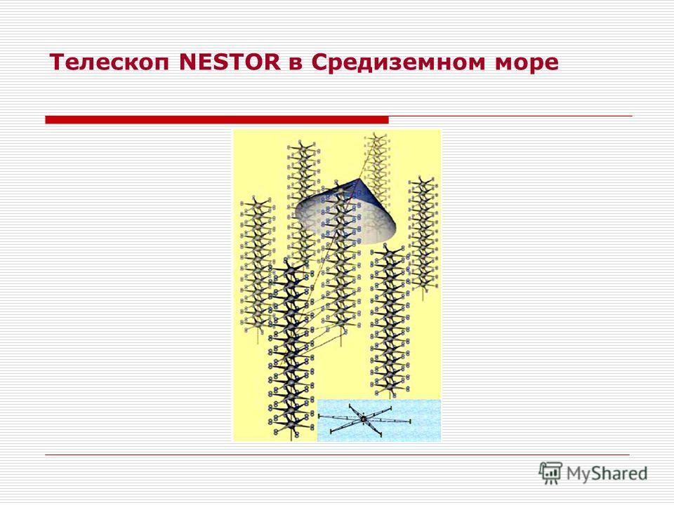 Телескоп NESTOR в Средиземном море