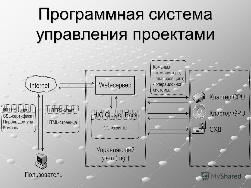 Программная система управления проектами