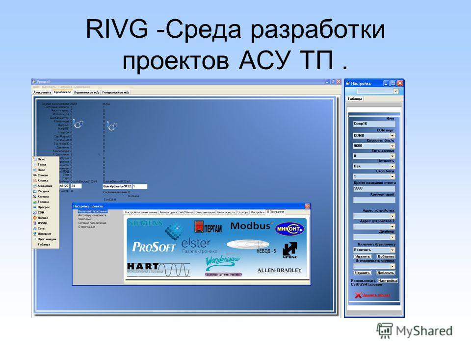 RIVG -Среда разработки проектов АСУ ТП.