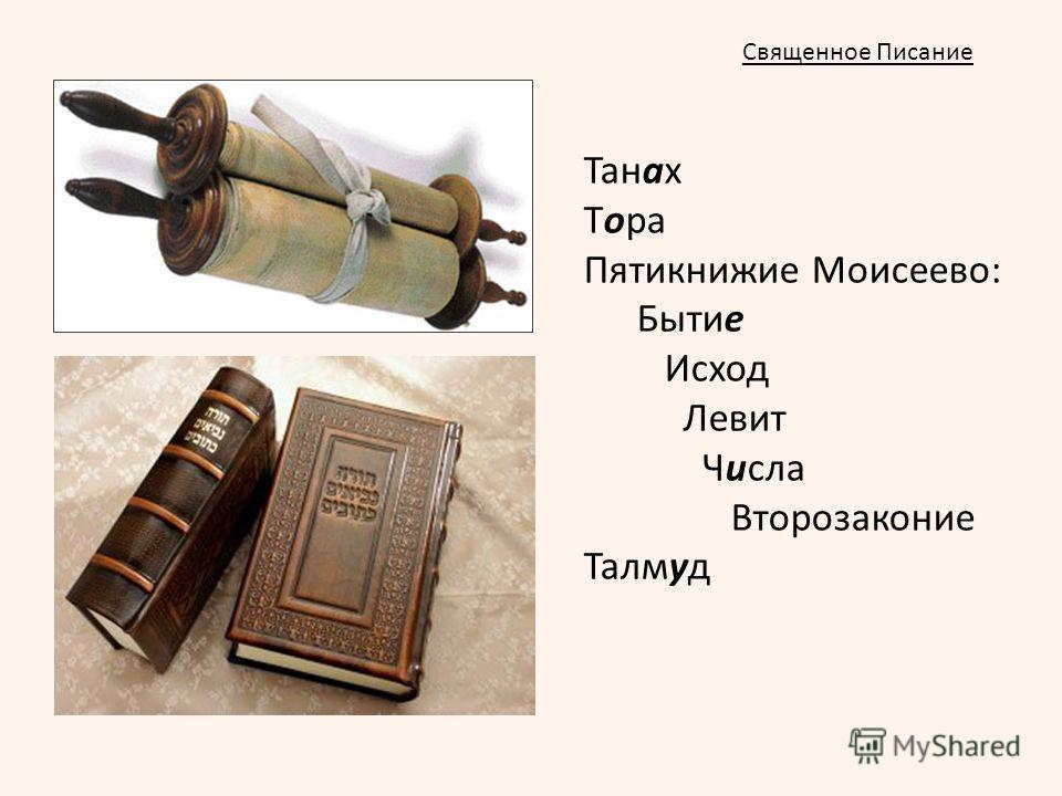 Танах Тора Пятикнижие Моисеево: Бытие Исход Левит Числа Второзаконие Талмуд Священное Писание