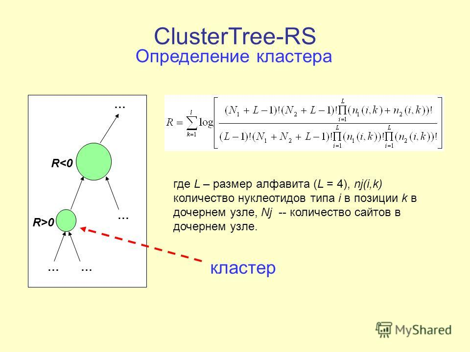 ClusterTree-RS … …… … R>0 R