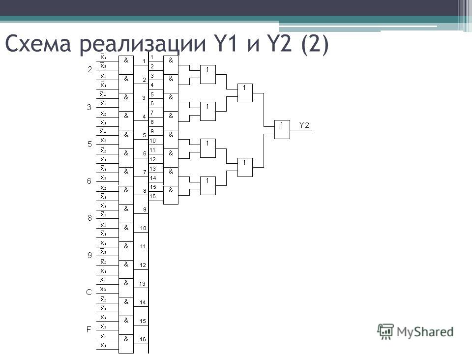 Схема реализации Y1 и Y2 (2)