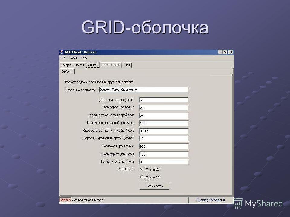 GRID-оболочка