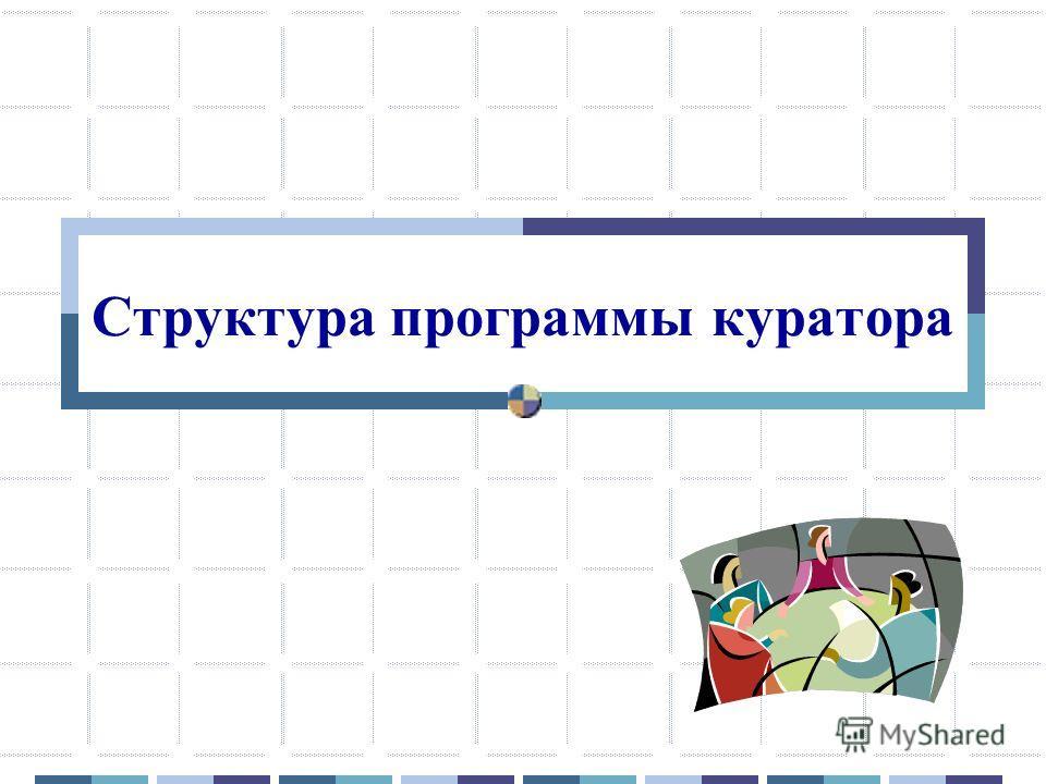 Структура программы куратора
