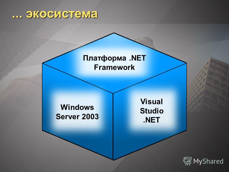 Корпоративные серверы.NET Клиенты Microsoft Пароль Microsoft Компоненты и Инструменты независимых поставщиков программного обеспечения, Приложения для пользователей Корпоративные отраслевые системы Платформа.NET Framework Windows Server 2003 Visual S