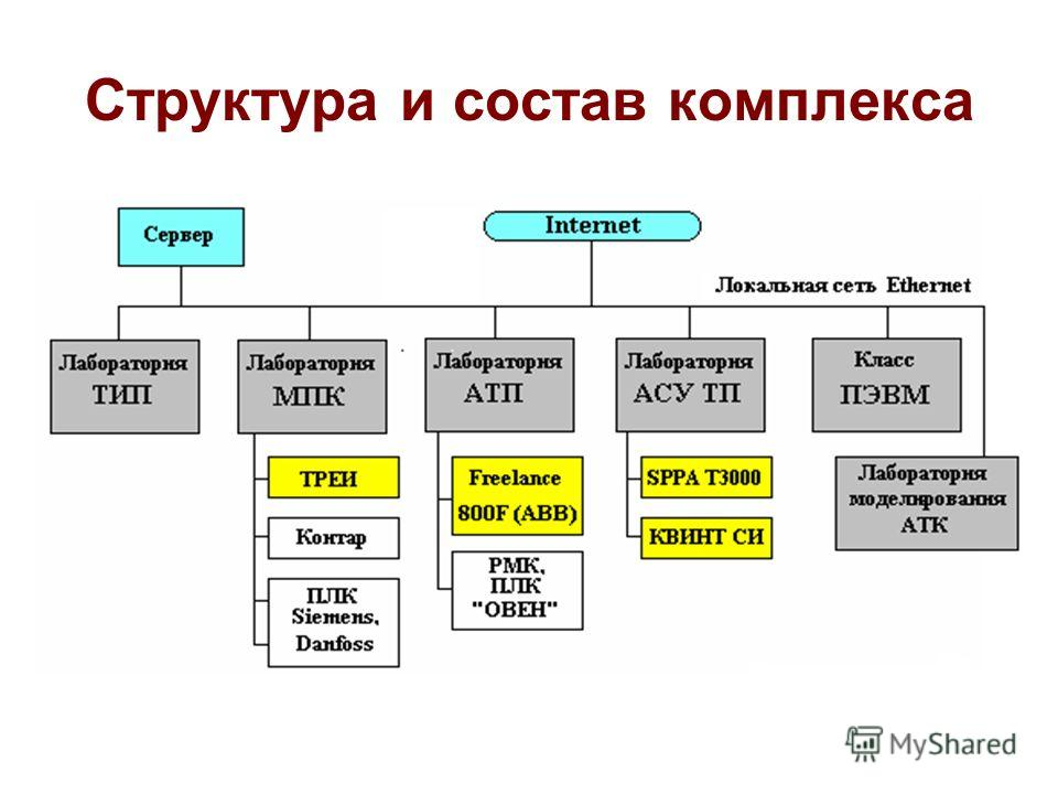 Структура и состав комплекса
