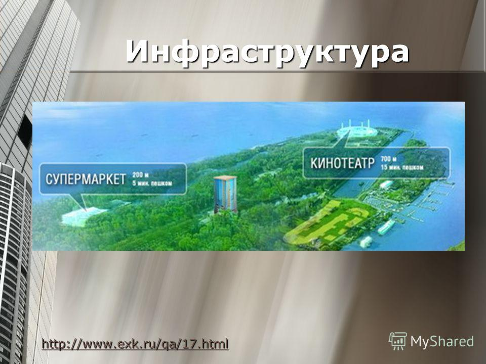 Инфраструктура Инфраструктура http://www.exk.ru/qa/17.html http://www.exk.ru/qa/17.html