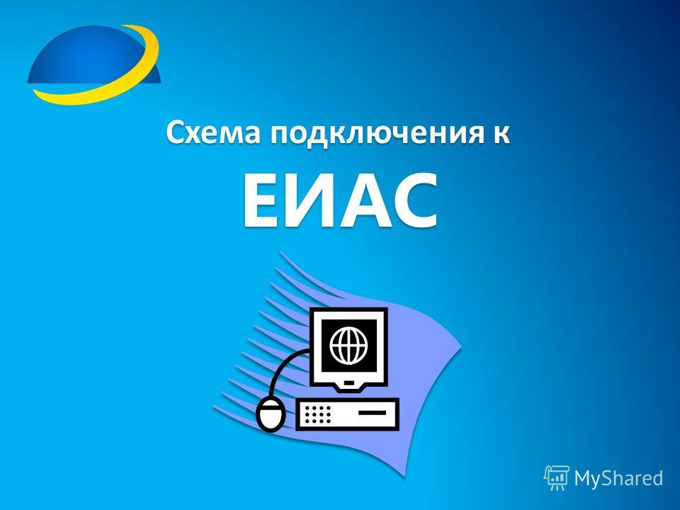 Схема подключения к ЕИАС Схема подключения к ЕИАС