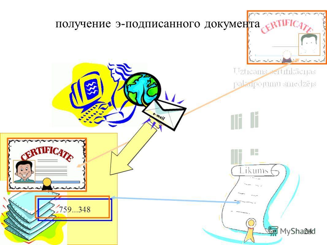 759...348 24 получение э-подписанного документа