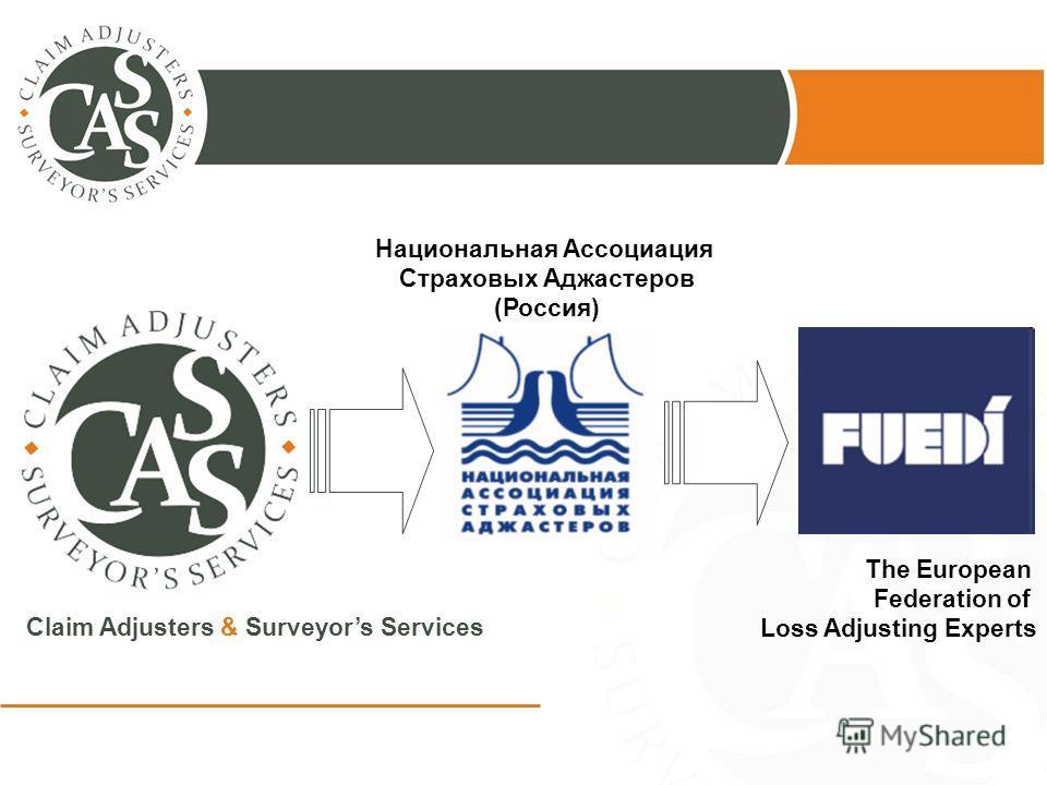 The European Federation of Loss Adjusting Experts Национальная Ассоциация Страховых Аджастеров (Россия)