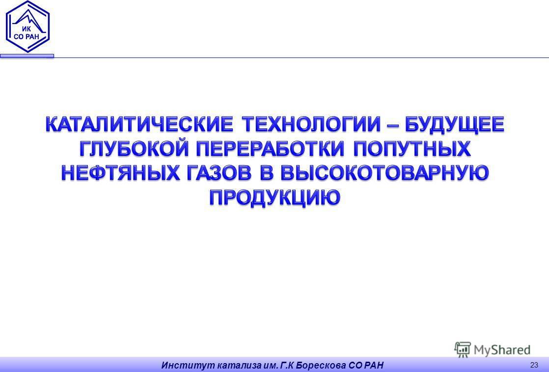 Институт катализа им. Г.К Борескова СО РАН 23