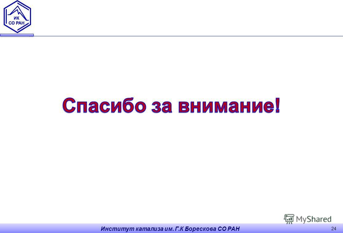 Институт катализа им. Г.К Борескова СО РАН 24