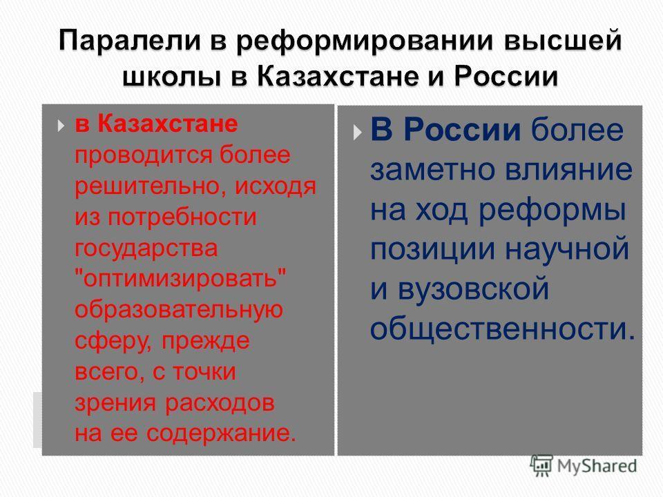 в Казахстане проводится более решительно, исходя из потребности государства