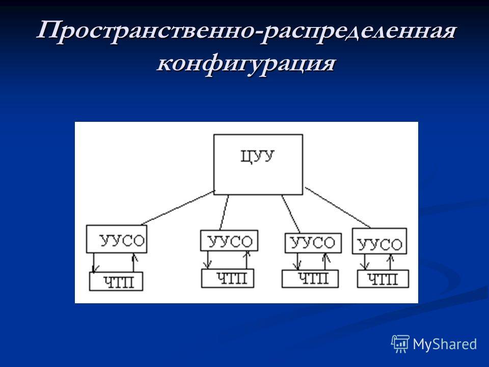 Пространственно-распределенная конфигурация