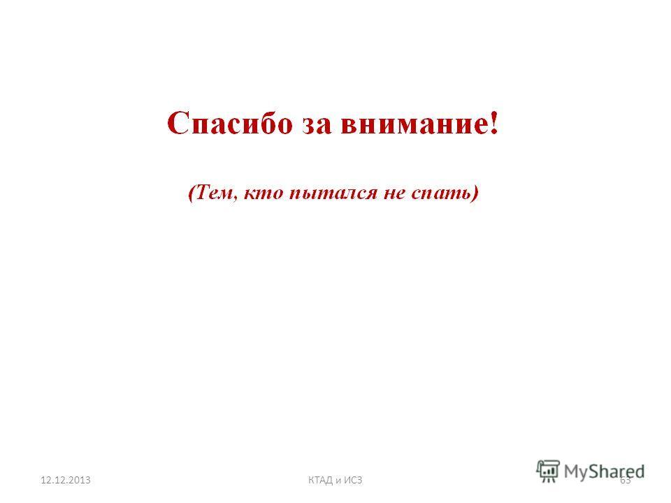 12.12.201363КТАД и ИСЗ