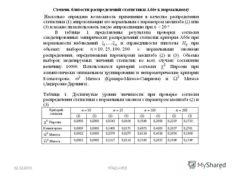 12.12.20139КТАД и ИСЗ