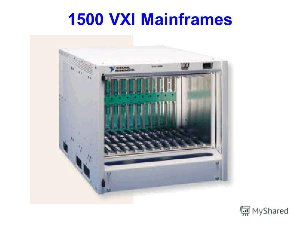 1500 VXI Mainframes