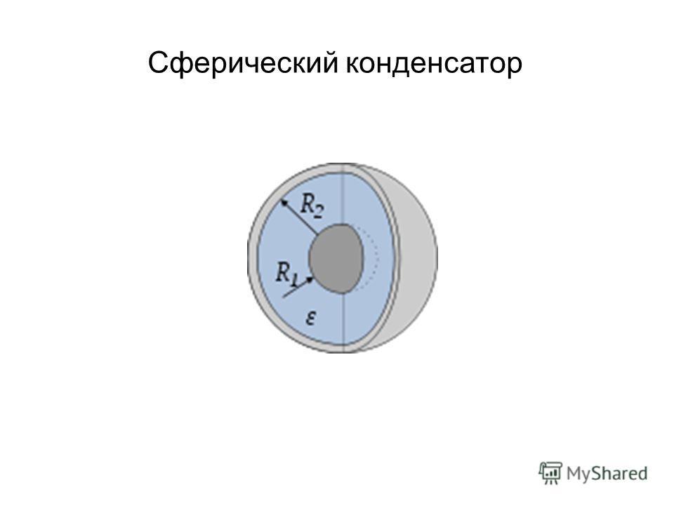 Сферический конденсатор