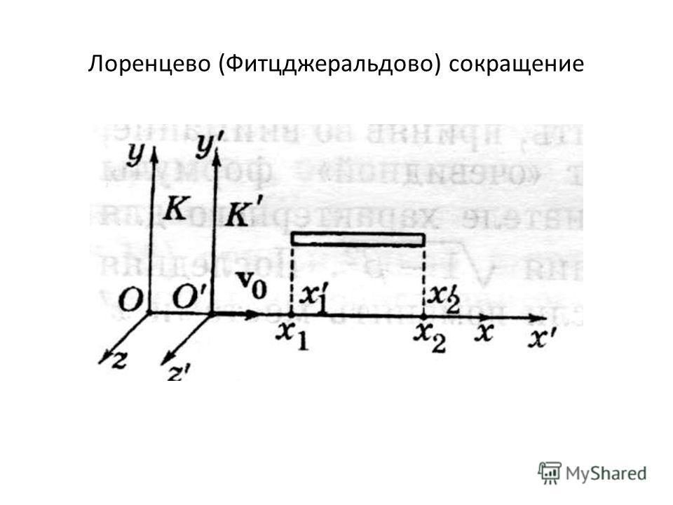 Лоренцево (Фитцджеральдово) cокращение