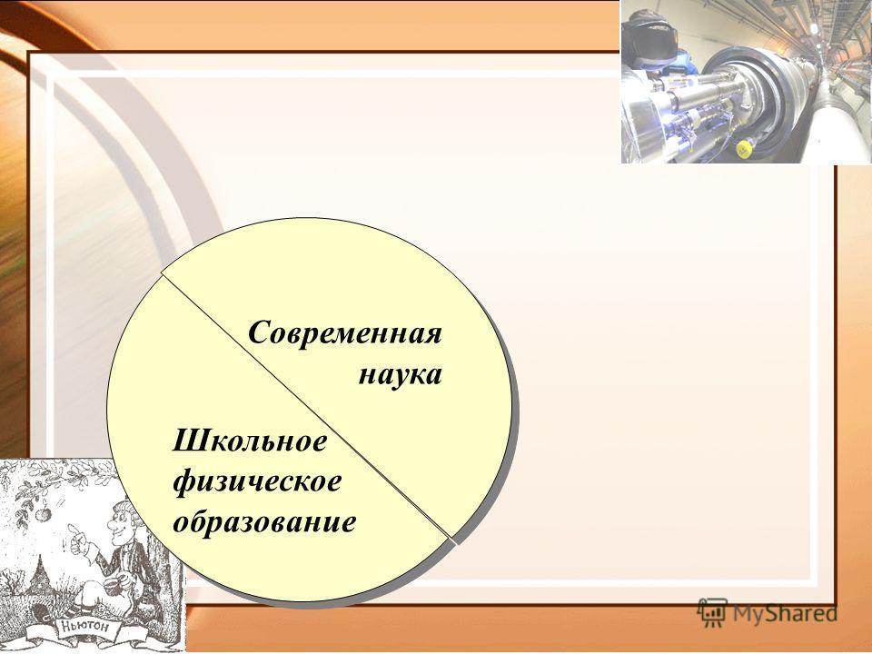 Школьное физическое образование Школьное физическое образование Современная наука