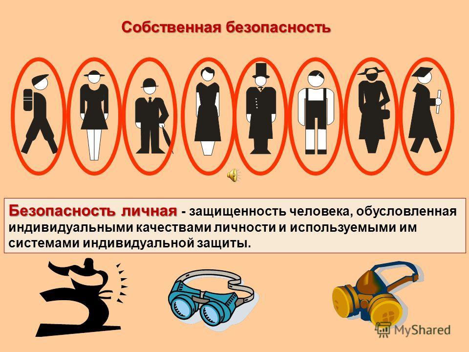 Безопасность жизнедеятельности Безопасность жизнедеятельности - благоприятное, нормальное состояние окружающей среды человека - условий труда, учебы, питания, отдыха, при которых снижена до минимума возможность возникновения опасных факторов, угрожаю