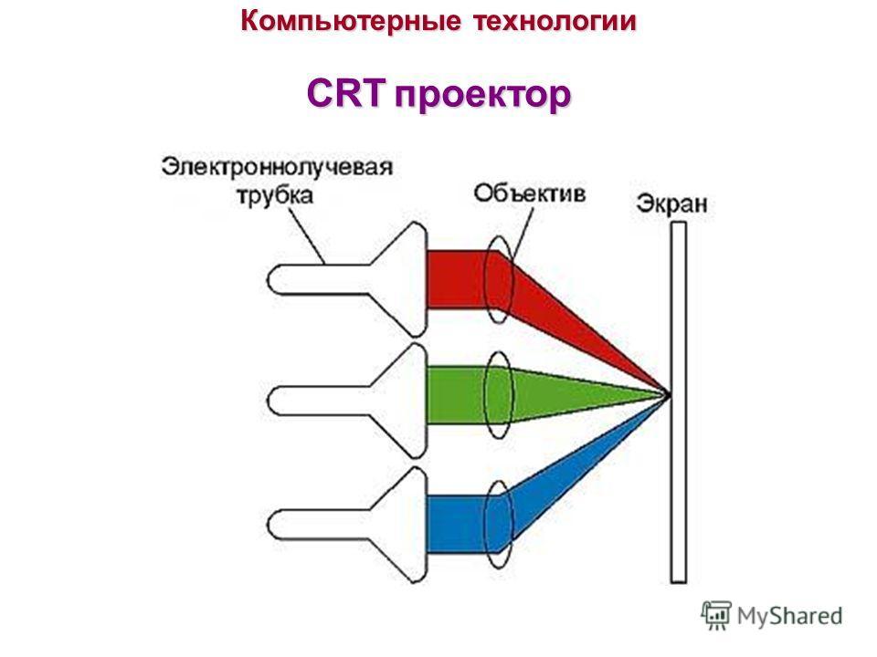 Компьютерные технологии CRTпроектор CRT проектор