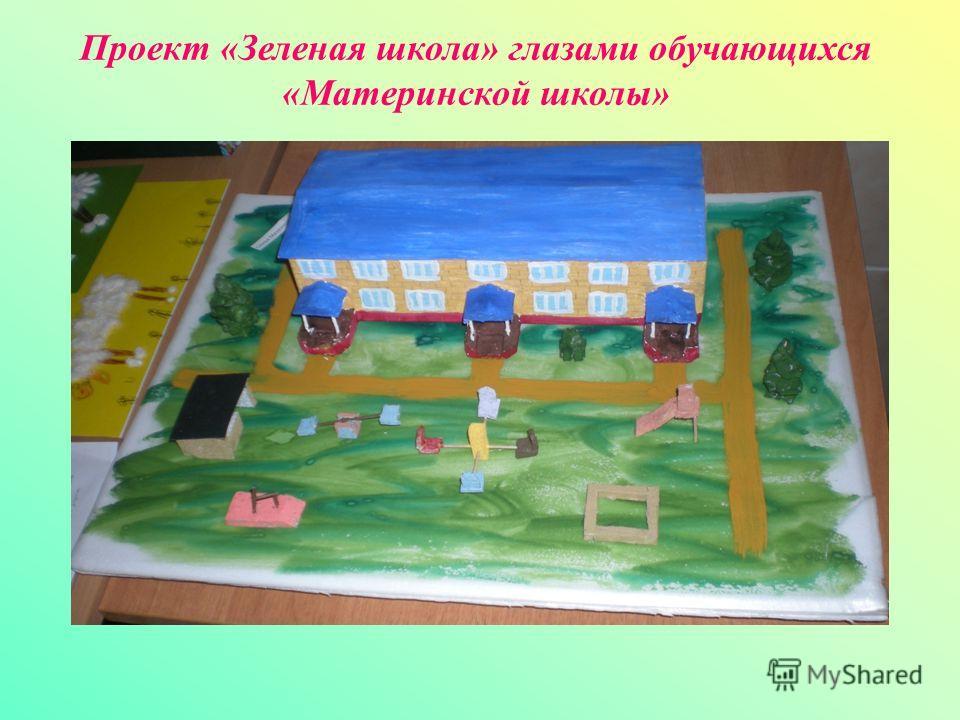 Проект «Зеленая школа» глазами обучающихся «Материнской школы»